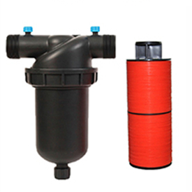 Water screen filter and disc filter