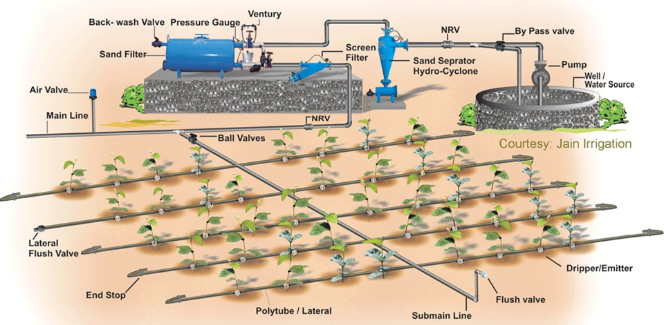Design Of Drip Irrigation System Software